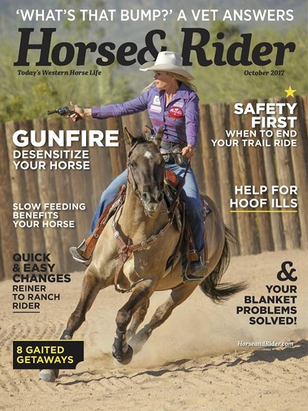 Horse & Rider Cover - 10/1/2017