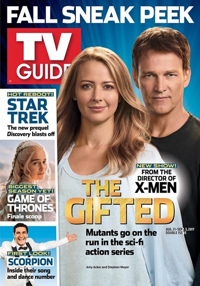 TV Guide Cover - 8/21/2017