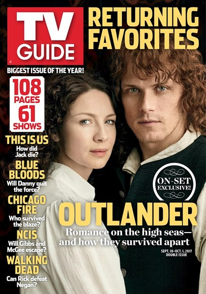 TV Guide Cover - 9/18/2017