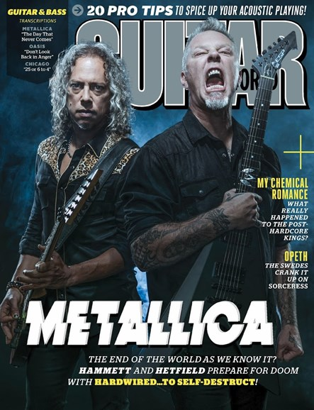 Guitar World Cover - 12/25/2016