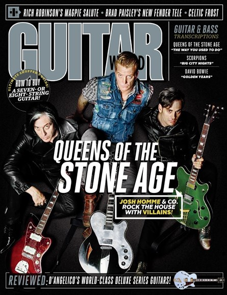 Guitar World Cover - 11/1/2017