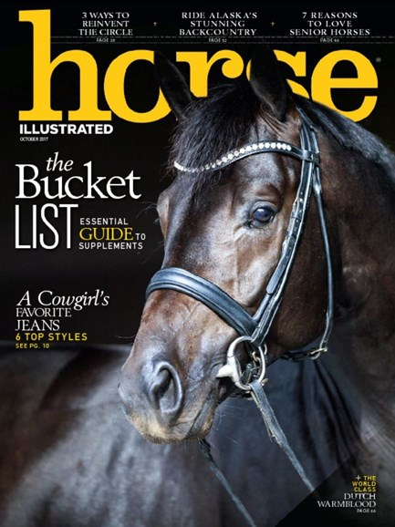 Horse Illustrated Cover - 10/1/2017