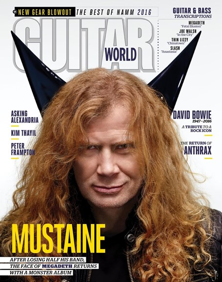 Guitar World Cover - 4/1/2016