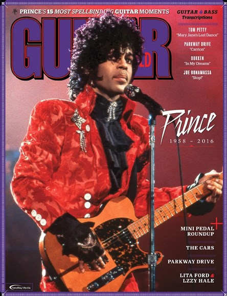 Guitar World Cover - 8/1/2016