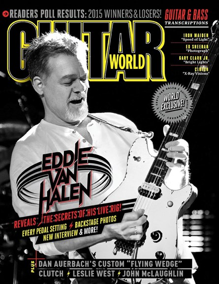 Guitar World Cover - 2/1/2016