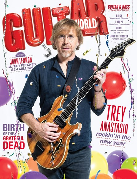 Guitar World Cover - 1/1/2016