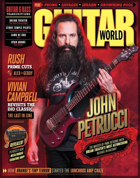 Guitar World Cover - 3/1/2016