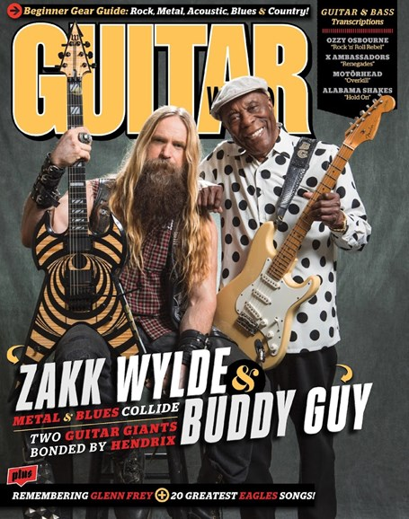 Guitar World Cover - 5/1/2016