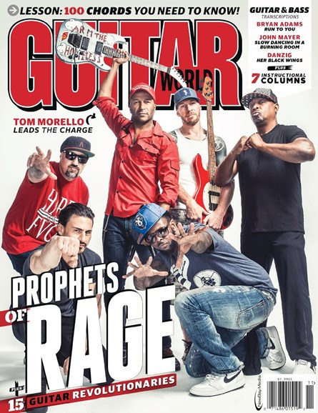Guitar World Cover - 11/1/2016