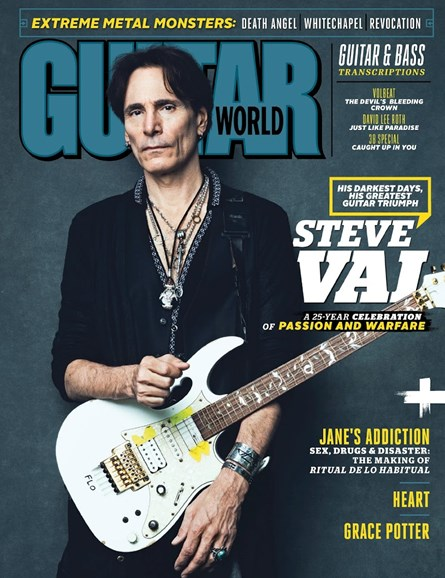 Guitar World Cover - 9/1/2016