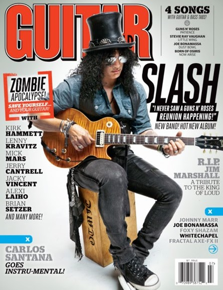 Guitar World Cover - 7/1/2012