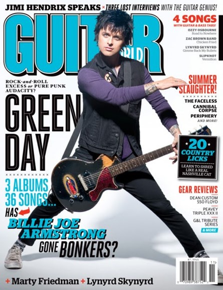 Guitar World Cover - 11/1/2012