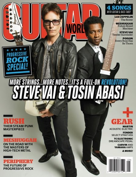 Guitar World Cover - 9/1/2012