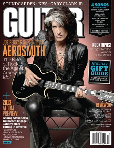 Guitar World Cover - 12/25/2012