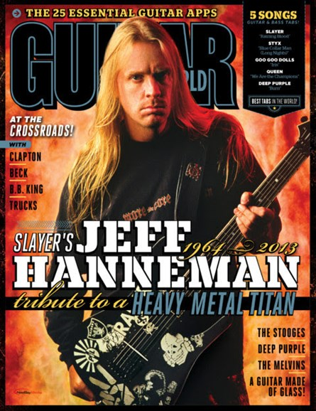 Guitar World Cover - 8/1/2013