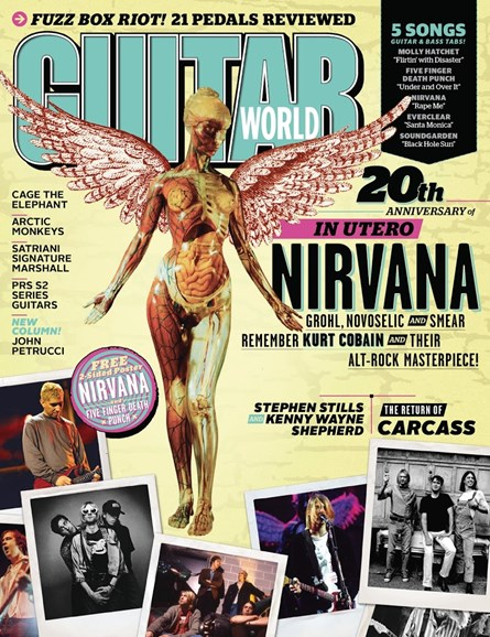 Guitar World Cover - 12/1/2013