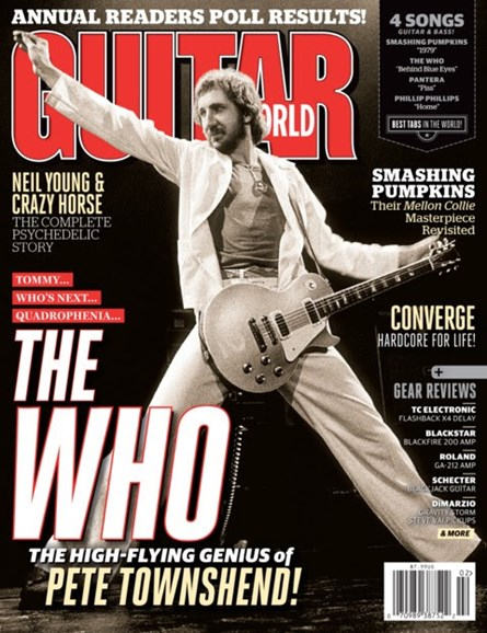 Guitar World Cover - 2/1/2013