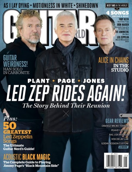 Guitar World Cover - 1/1/2013