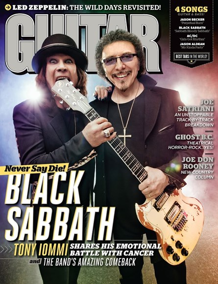Guitar World Cover - 7/1/2013