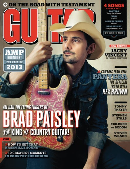 Guitar World Cover - 5/1/2013