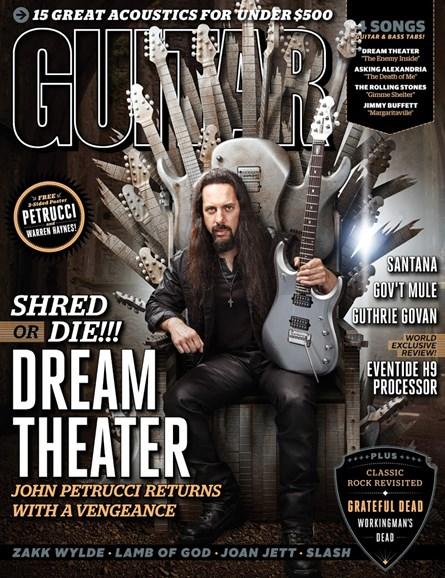 Guitar World Cover - 11/1/2013