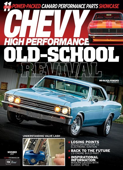Chevy High Performance Cover - 11/1/2017