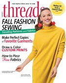 Threads Magazine 10/1/2017