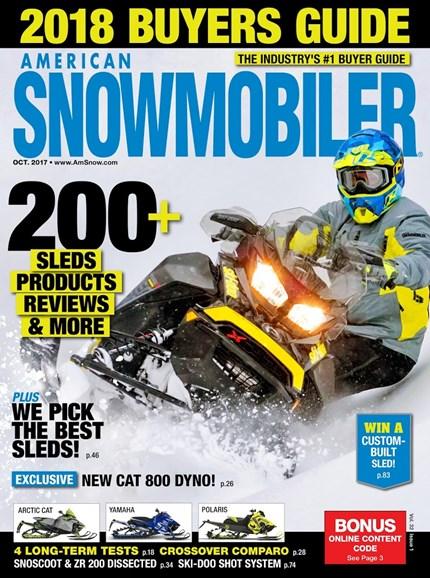 American Snowmobiler Cover - 10/1/2017