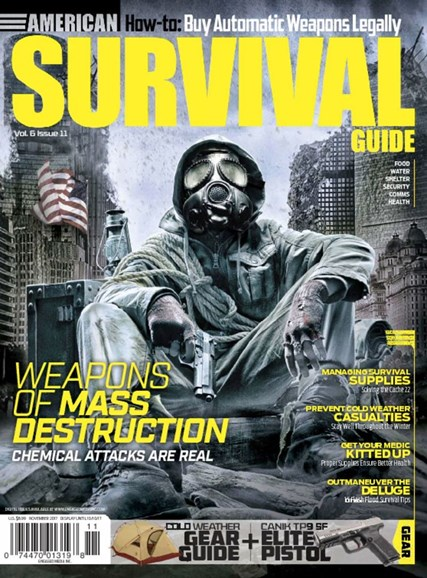 American Survival Guide Cover - 11/1/2017