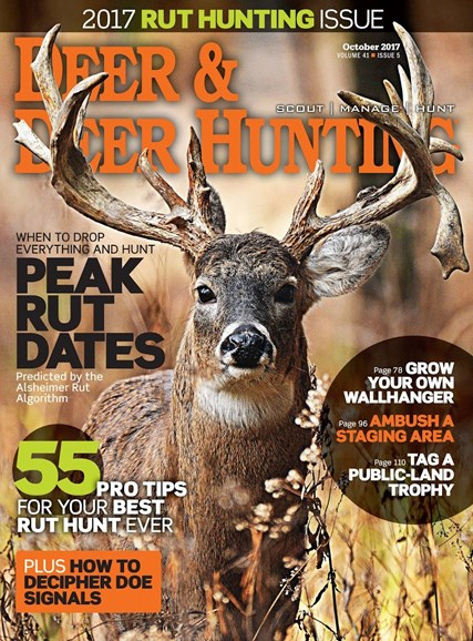 Deer & Deer Hunting Cover - 10/1/2017