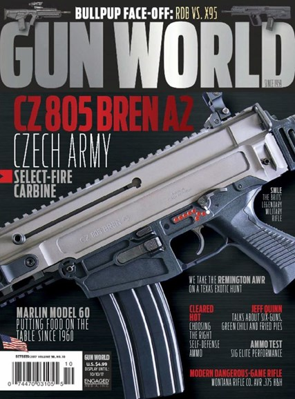 Gun World Cover - 10/1/2017