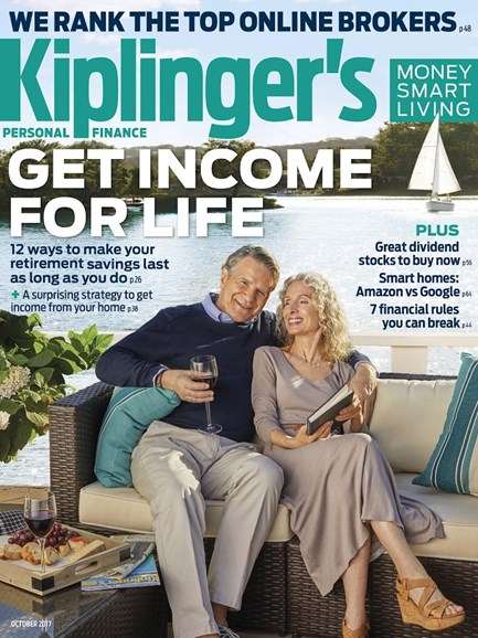 Kiplinger's Personal Finance Cover - 10/1/2017