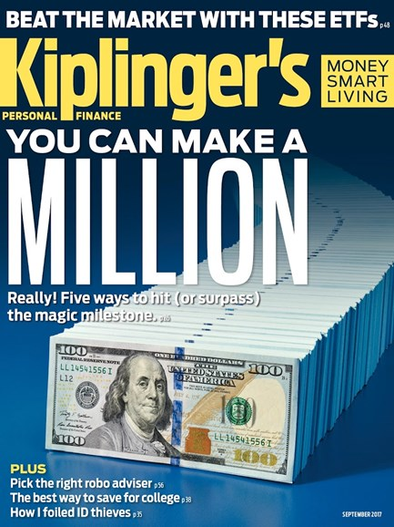 Kiplinger's Personal Finance Cover - 9/1/2017