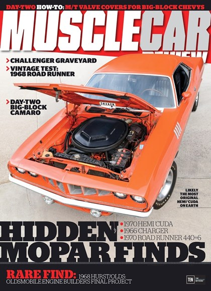 Muscle Car Review Cover - 10/1/2017