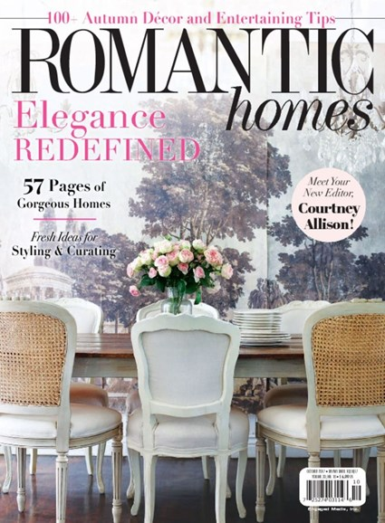 Romantic Homes Cover - 10/1/2017