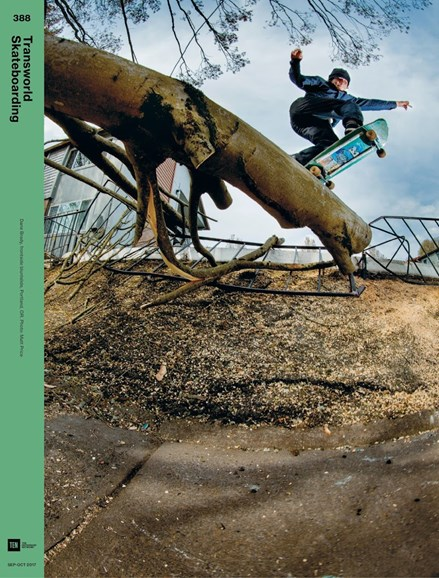 Transworld SKATEboarding Cover - 9/1/2017