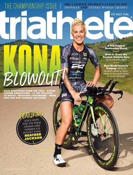Triathlete Cover - 10/1/2017