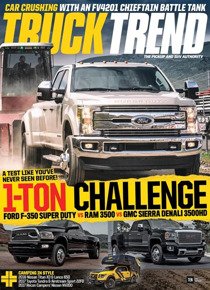 Truck Trend Cover - 11/1/2017