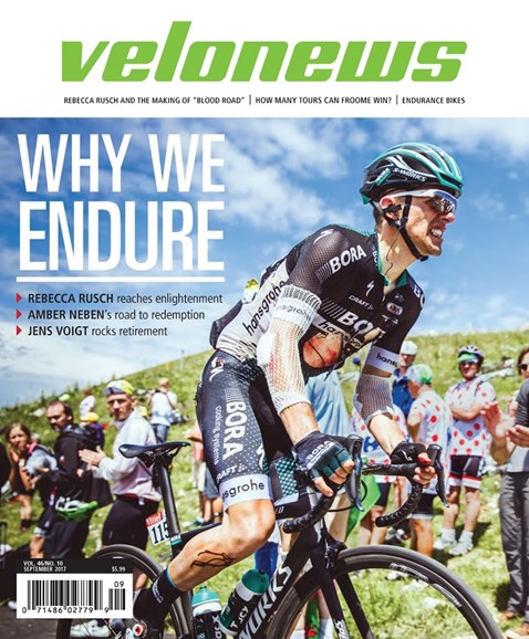 VeloNews Cover - 9/1/2017