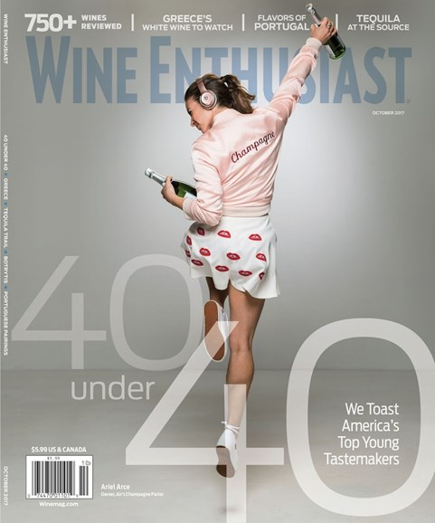 Wine Enthusiast Cover - 10/1/2017