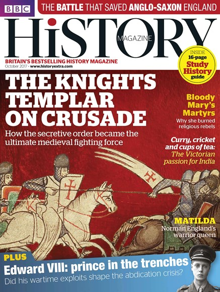 BBC History Cover - 10/1/2017