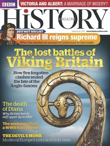 BBC History Cover - 9/1/2017