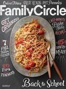 Family Circle Magazine 9/1/2017