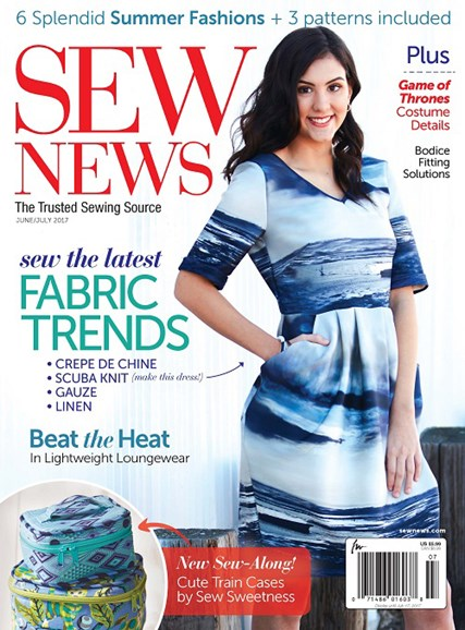 Sew News Cover - 6/1/2017