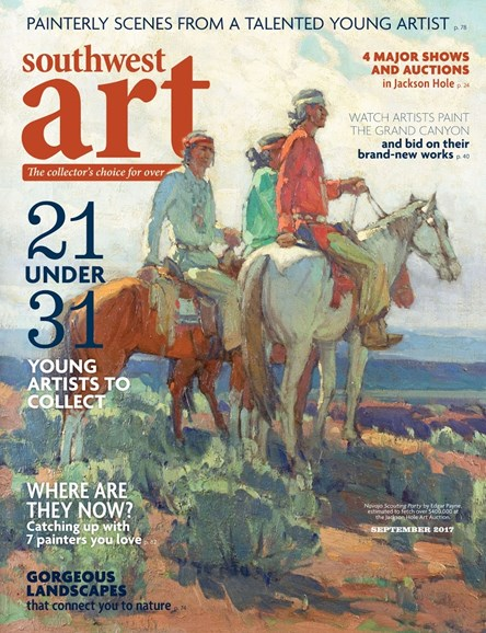 Southwest Art Cover - 9/1/2017