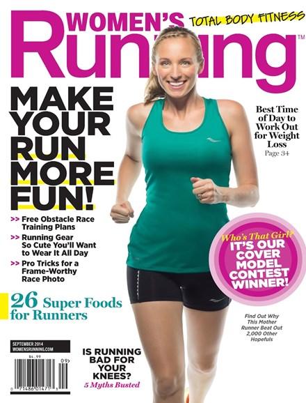Women's Running Cover - 9/1/2014