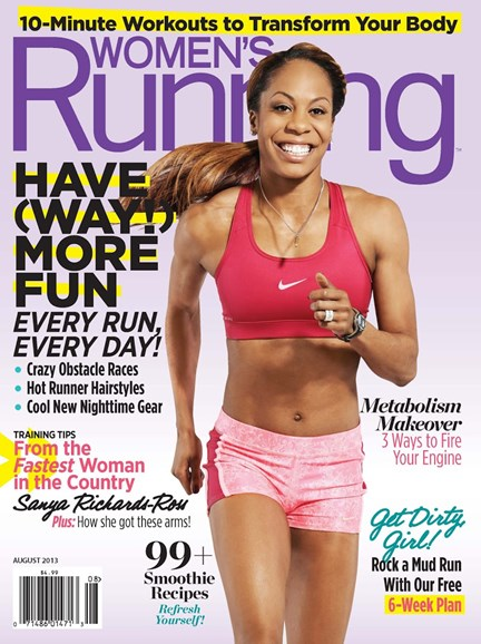 Women's Running Cover - 8/1/2013