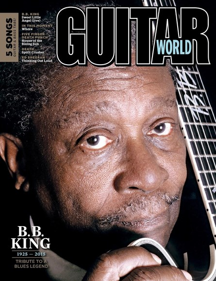 Guitar World Cover - 8/1/2015