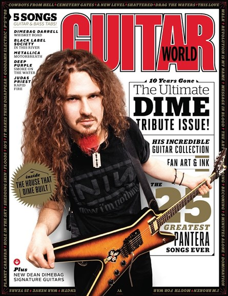 Guitar World Cover - 2/1/2015