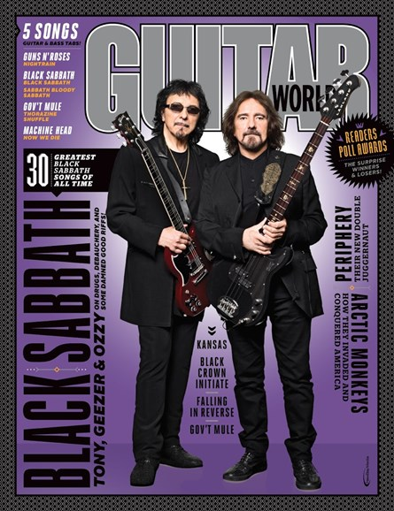 Guitar World Cover - 3/1/2015